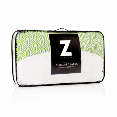 Malouf Z Shredded Talalay Latex with Gelled Microfiber Pillow