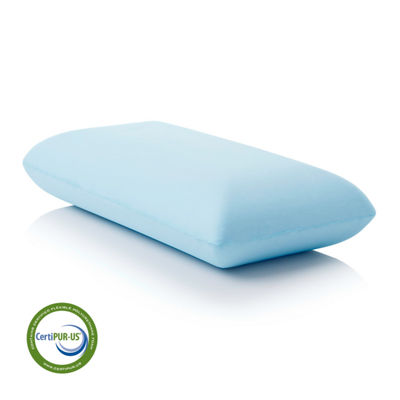Malouf Z Gel Infused Dough Memory Foam Pillow - Mid Loft Plush