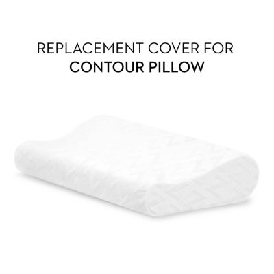 Malouf Z Replacement Cover Queen Size Contour Pillow