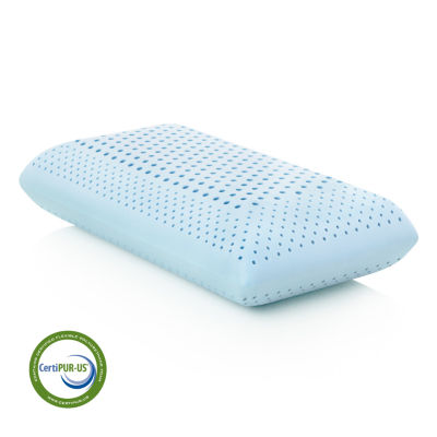 Malouf Z Zoned Gel Dough Gel-Infused Memory Foam Pillow