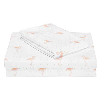 Frank and Lulu Flamingo Sheet Set & Accessories