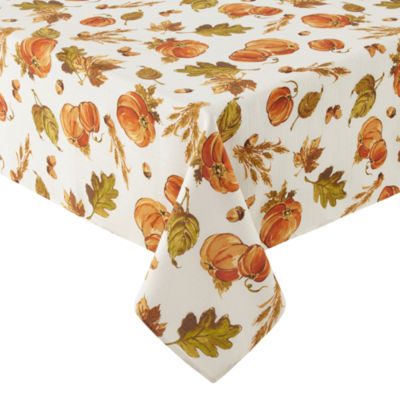 JCPenney Home Pumpkin Patch Tablecloth