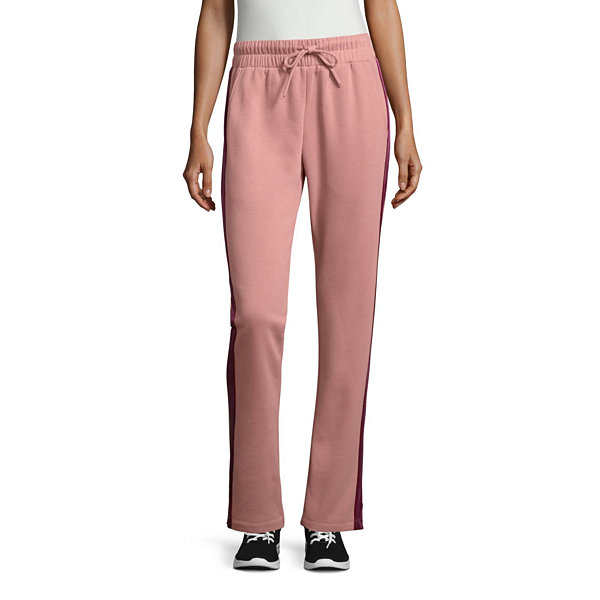 St. John's Bay Active Velour Trim Pant (Straight Leg)