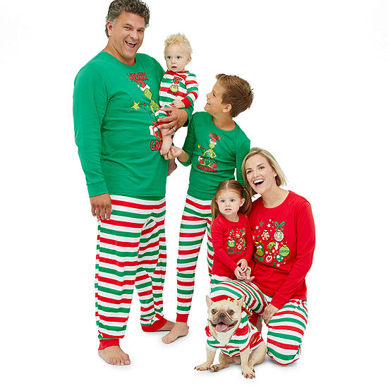 Dr. Seuss The Grinch Family Pajamas