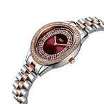 JBW Bellini 18K Rose Gold Over Stainless Steel 1/6 C.T. T.W. Genuine Diamond Bracelet Watch-J6381e