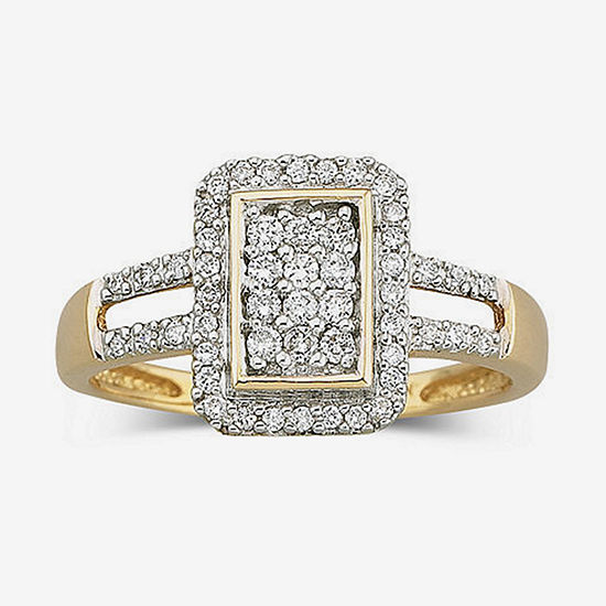 1/3 CT. T.W. Diamond 10K Gold Ring