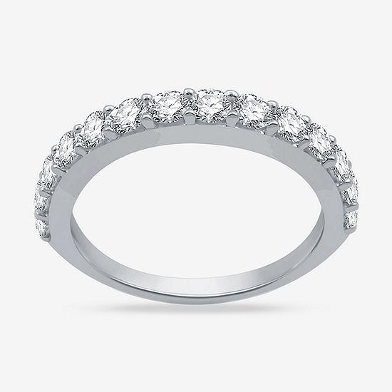 1 CT. T.W. Genuine White Diamond 10K Gold Wedding Band
