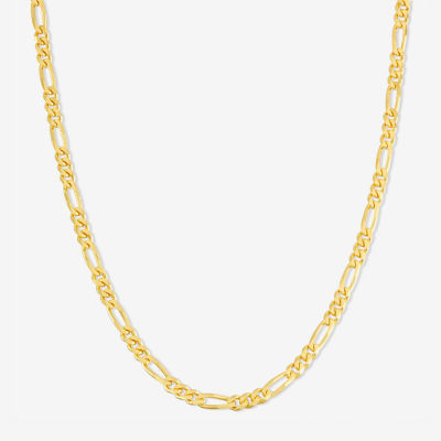 14K Gold Over Silver Chain Necklace