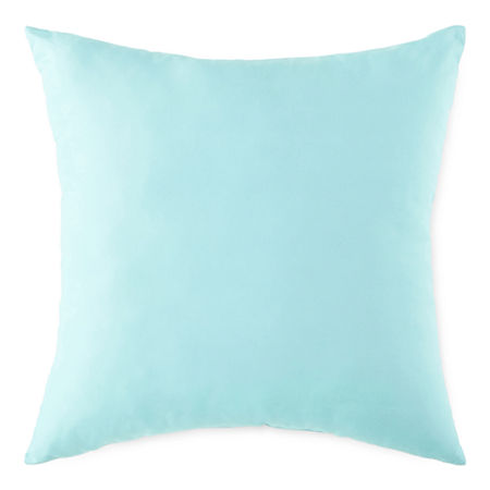 Outdoor Oasis Square Outdoor Pillow, One Size , Blue