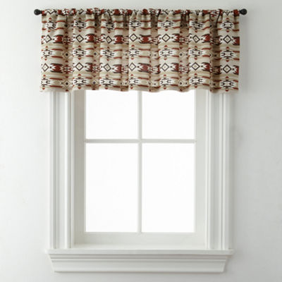 New Mexico Rod-Pocket Valance