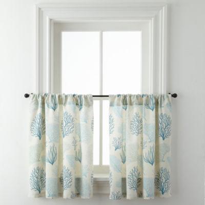 Coraline Rod-Pocket Window Tiers