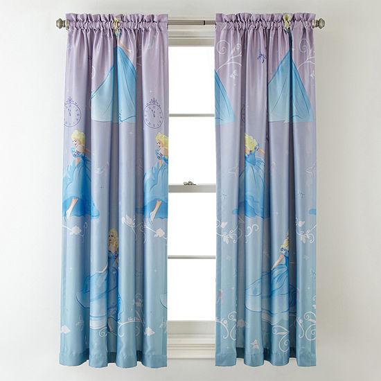 Disney Collection Blackout Rod-Pocket Single Curtain Panel