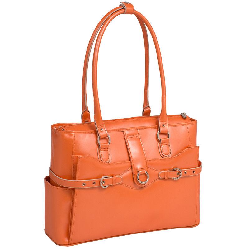 Mcklein Briefcase - Briefcases - Orange - Orange