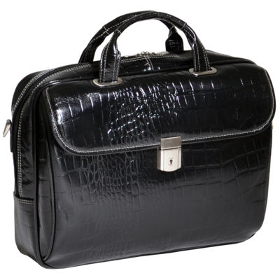 "McKleinUSA Ignoto 15.6"" Leather Large Laptop Briefcase"