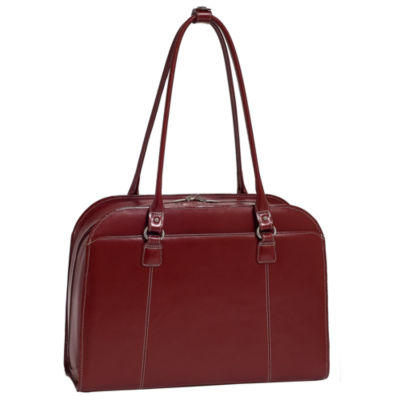 "McKleinUSA Hillside 14"" Leather  Laptop Briefcase"