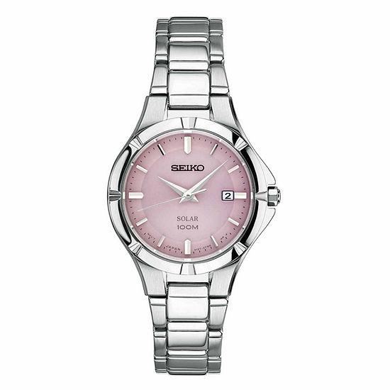 Seiko Womens Silver Tone Bracelet Watch Sut315