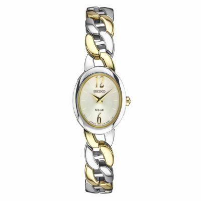Seiko Womens Two Tone Bracelet Watch-Sup336