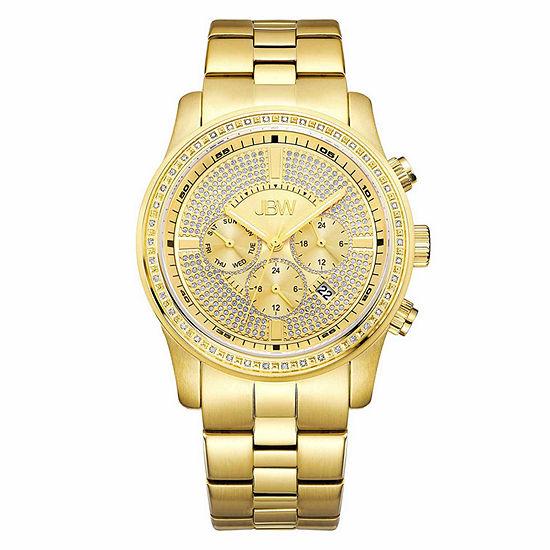 Jbw Mens Gold Tone Bracelet Watch J6337b