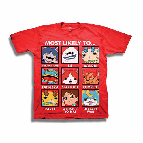Yo-Kai Graphic T-Shirt - Preschool 4-7X
