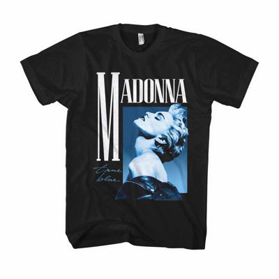 Madonna True Blue Short-Sleeve Slim-Fit Tee