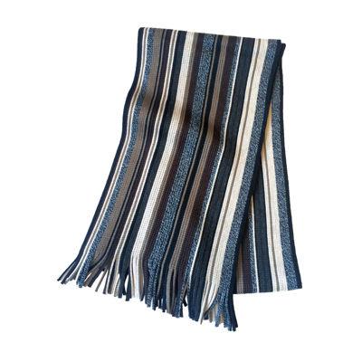 JF J. Ferrar® Neutral Stripe Raschel Scarf