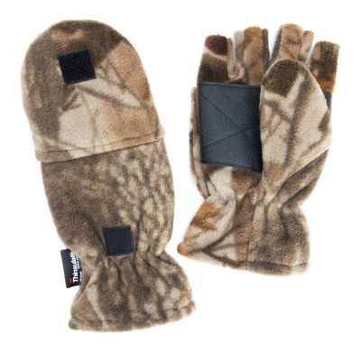 QuietWear® Waterproof Fleece Flip-Top Mittens