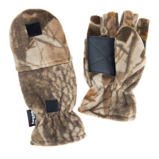 QuietWear® Waterproof Fleece Flip-Top Mittens