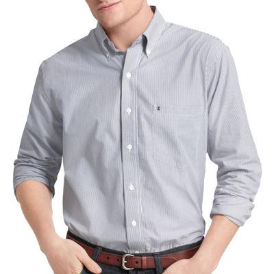 IZOD Striped Woven Shirt