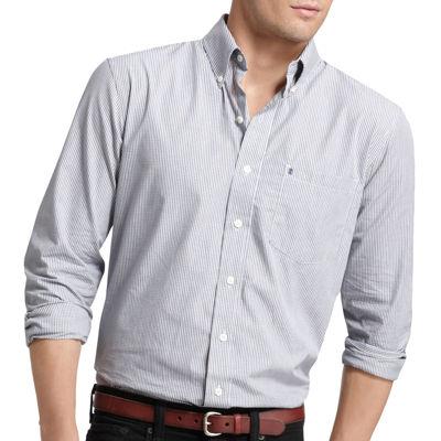 IZOD Checked Woven Shirt
