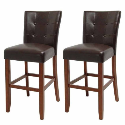 Steve Silver Co Maxton 2-pc. Upholstered Tufted Bar Stool