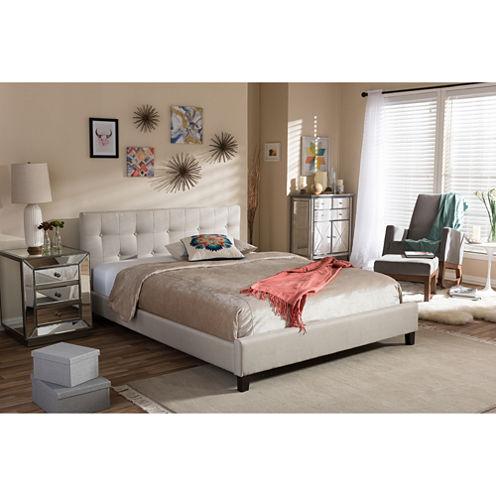 Baxton Studio Annette Modern Bed