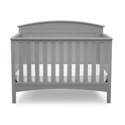 Delta Archer 4-in-1 Convertible Crib - Grey