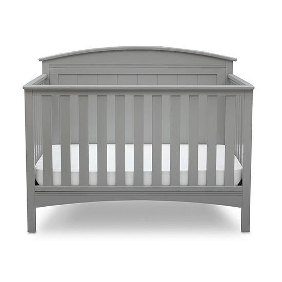 Delta Archer 4-in-1 Convertible Crib - Grey