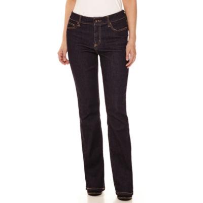 St. John's Bay® Flap-Pocket Bootcut Jeans - Tall