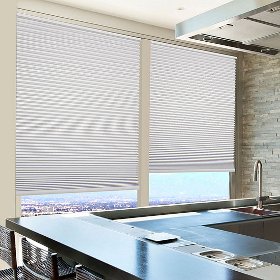 Home Expressions Cut-to-Width Cordless Blackout Cellular Shade