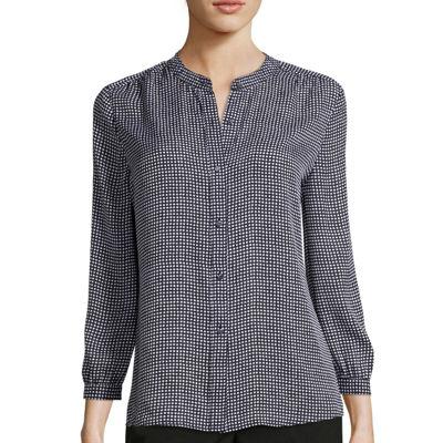 Liz Claiborne® 3/4-Sleeve Soft Blouse