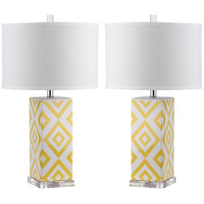 Safavieh Elnora Table Lamp- Set of 2