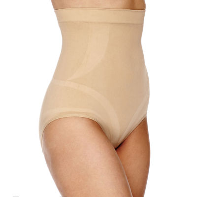 Ambrielle® Seamless High-Waist Briefs