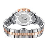 JBW Womens Diamond-Accent Two-Tone Stainless Steel Bracelet Watch J6327B