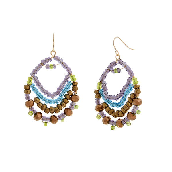 Mixit Spetember Mixit Color Newness Chandelier Earrings