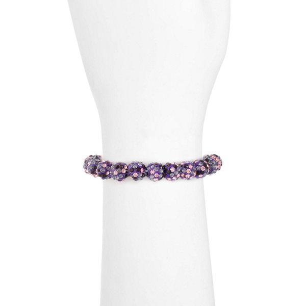 Liz Claiborne Liz Claiborne Womens Purple Stretch Bracelet zvuNZVXGzt
