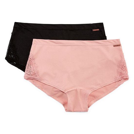 Danskin 2-pc. Knit Boyshort Panty Ds9566-2pka