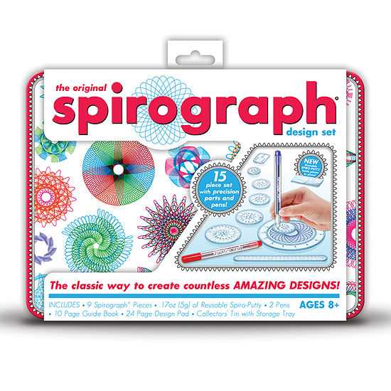 The Original Spirograph Design Tin