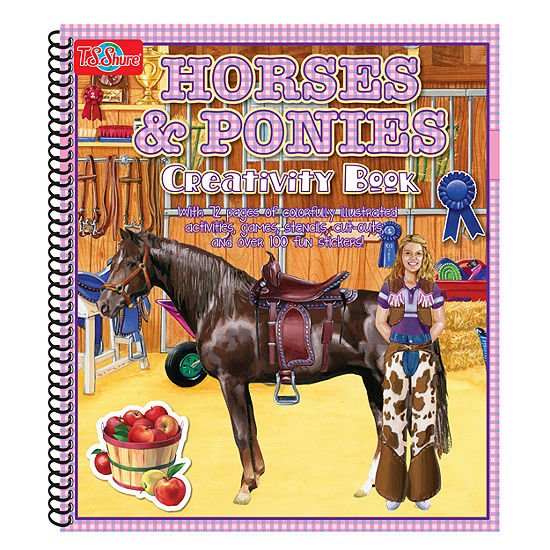 T.S. Shure - Horse and Ponies Creativity Book