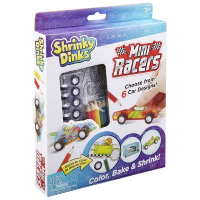 Shrinky Dinks Mini Racers Activity Set
