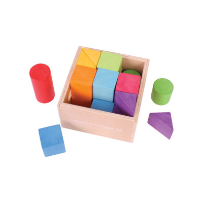 Bigjigs Toys - First Building Blocks