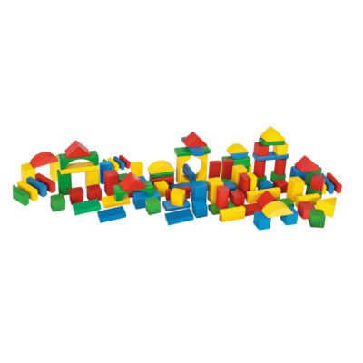 Heros - 100 Piece Wooden Blocks