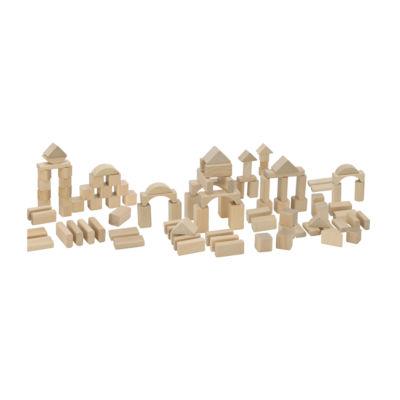 Heros - 100 Piece Wooden Blocks
