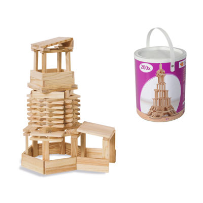 Eichhorn - 200 Piece Wooden Construction Kit