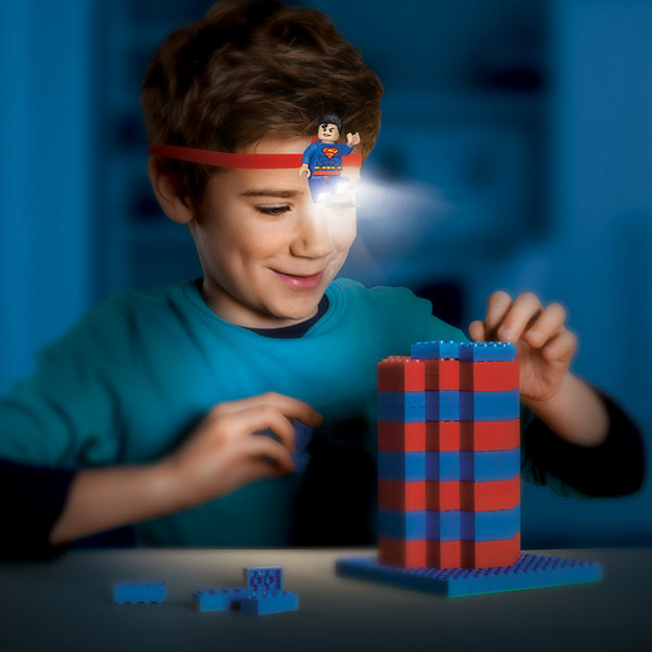 LEGO - DC Universe Super Hero Superman Head Lamp